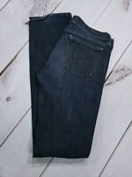 Citizens Of Humanity Womens Jeans Size 28 Ava Low Rise Straight Leg Dark Wash