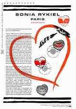 Document officiel La Poste - Cœurs 2018 - Sonia Rykiel Paris