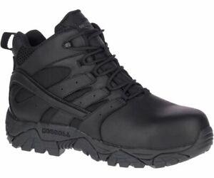 Merrell Men's J45337  Moab 2 Mid Soft Toe Waterproof  Tactical Boots