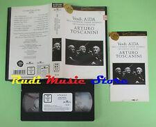 VHS Giuseppe Verdi AIDA Nelli Gustavson Tucker Arturo Toscanini(CL3)no cd dvd lp