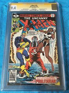 Uncanny X-Men #124 - Marvel - CGC SS 9.4 NM - Signed by Chris Claremont