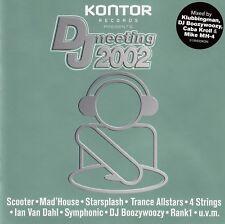 KONTOR RECORDS PRESENTS : DJ MEETING 2002 / 2 CD-SET - TOP-ZUSTAND