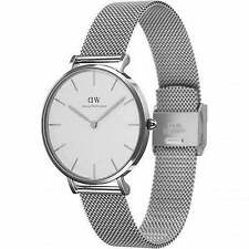 Original Daniel Wellington Damen Classic Petite Sterling 32mm DW00100164 NEU