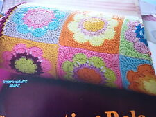 Pattern To Crochet  A Lovely Bolster Cushion In 4Ply-16ins Long, 8ins Diameter
