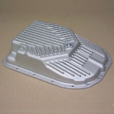 Transmission Deep Oil Pan 4L80E 4L85E Late Step Type HD As Cast Aluminum Hummer