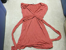 FOREVER BURNT ORANGE TUNIC TOP SIZE SMALL NWOT
