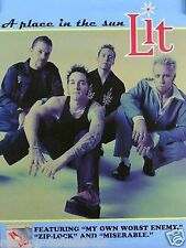 Lit 1999 A Place In The Sun Original Promo Poster