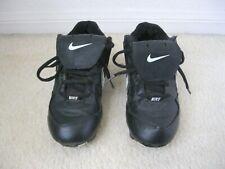 Nike Classic Black Baseball Softball Cleats Shoes, Youth Kids Boys 3 3Y