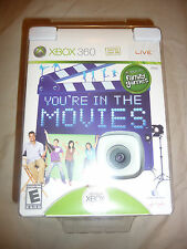 Xbox 360 You're In The Movies Video Game WITH Vision Camera /  PC webcam (NEW)
