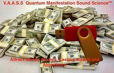 Money Drawing Manifest Wealth Abundance Riches Quantum Sound Science MP3 USB