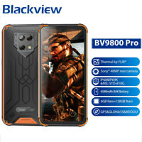 Blackview BV9800 Pro 6GB 128GB Global Smartphone Thermal imaging 48MP IP69 Orang