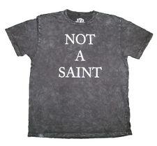 T-Shirt Black Mineral Wash 100% Cotton Men's Size Small Pre-Shrunk & Super Soft