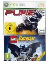 Xbox 360 Lego Batman Y Pure Racing paquete doble * Nuevo y Sellado * existencias oficiales del Reino Unido