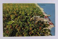 Postcard Waterside Theater and Fort Raleigh Roanoke Island North Carolina