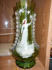 Mary Gregory Antique glass vase