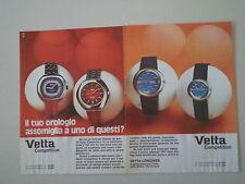 advertising Pubblicità 1973 OROLOGI VETTA COMPETITION