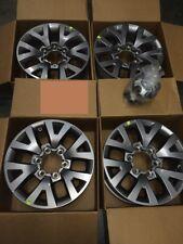 Set (4) 1995 - 2017 Toyota Tacoma 6 Spoke Silver Alloy Wheels Rims 42611-04150