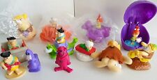 Lot of  12 Fast Food  The Flintstones Kids Meal Toys Barney Pebbles 1980's 90's