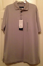 Chereskin Men's Gray Golf Shirt Poly Blend Size Medium #RN40330 New With Tags