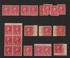1926 Sc 634 MNH MH plate numbers, booklet pane, singles