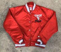 Vintage STARTER NCAA UNLV Runnin' Rebels Satin Jacket Red Large