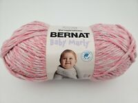 Yarnspirations Bernat Baby Marly Yarn, Blossom Pink, 10.5oz, 221 Yards ☆ New ☆