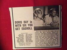 m12s ephemera 1969 film review doris day with six you get eggroll