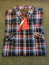 Andy Richardson Long Sleeve Check Shirt/181 - Large
