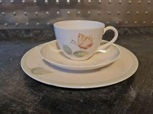 Villeroy & Boch FLOREA  Kaffeetassen Untertassen kuchenteller Frühstückstassen