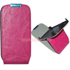 FUNDA LIBRO VERTICAL CASE PARA SAMSUNG GALAXY S3 MINI i8190 FUCSIA