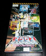 SFC Macross Scrambled Valkyrie JAPAN NTSC Super Famicom SNES