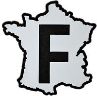 Auto 3D Relief Schild Frankreich Aufkleber France Landkarte 9 cm HR Art. 4855