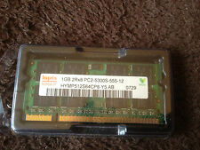 2 x 1GB = 2GB DDR2 PC2-5300 PC5300 Laptop RAM MEMORIA abbinato COPPIA PC6400 PC4200