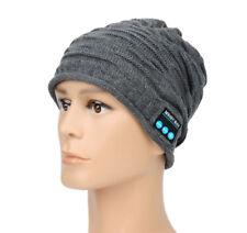 Bluetooth Mütze Beanie Wireless Stirnband Bluetooth Stereo Kopfhörer Headset Neu
