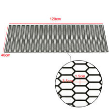 120 x 40cm ABS Plastic Universal Car Vent Honeycomb Hexagon Grill Mesh For BENZ