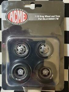 Street Fighter Pro Touring 1:18th Wheel & Tyre Set by ACME USA