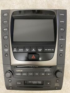 Lexus GS 2005 Navigation And Stereo Unit
