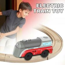 Electric Train Toy Battery Powered Engine Train Compatible With BRIO Wood Track