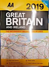 AA ROAD MAP = GREAT BRITAIN AND IRELAND 2019 = ~ 39CM X 28.5CM