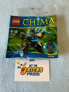 Lego Chima 30262 Gorzan's Walker Polybag New/Sealed/Retired/Hard to Find
