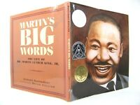 Martin's Big Words- The Life of Dr. Martin Luther King, Jr. VG 'FLAT SIGNED'