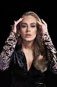 Adele Poster Adele A4 Poster Print Laminated