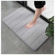 Carpet Non-Slip Bath Mat Soft thicken Flannel Rug Bathroom Door Floor Kitchen