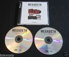 MEGADETH 'PEACE SELLS…BUT WHO'S BUYING' 2011 PROMO 2-CD SET—25TH ANN. EDITION