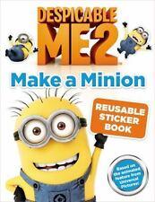 Despicable Me 2: Make a Minion Reusable Sticker Book by Kirsten Mayer (2013,...