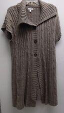 Croft & Barrow Women's Knit Long Brown Sweater Dress -- Size XL