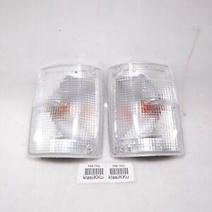 Corner Light Turn Signal LEFT & RIGHT Fits ISUZU Trooper 1987 - 1991 (pair) NEW