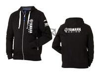 Genuine Yamaha 18 Paddock Blue Men's Black 'Natori' Hoodie ATV QUAD MOTORCROSS