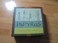 Gesellschaftsspiel Brettspiel Legespiel, Papyros, Georg Schumacher, Moses