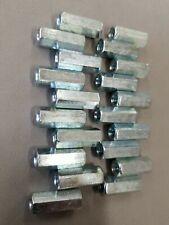 2014 20 X W2764 X L6364 Coarse Grade 5 Hex Rod Coupling Nut Zinc